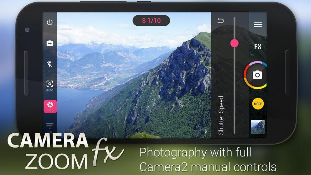 Camera ZOOM FX Premium screenshot 1