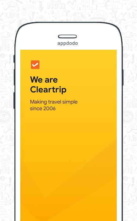 Cleartrip - Flights, Hotels, Activities, Dineout screenshot 2