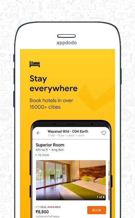 Cleartrip - Flights, Hotels, Activities, Dineout screenshot 6
