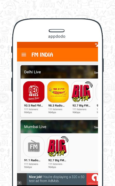 FM Radio India - Live Stations  screenshot 14