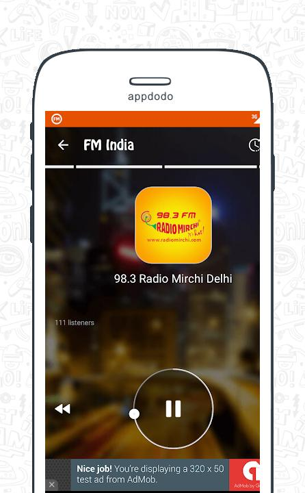 FM Radio India - Live Stations  screenshot 15