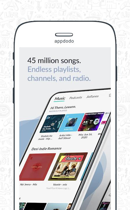 Jio Music screenshot 2