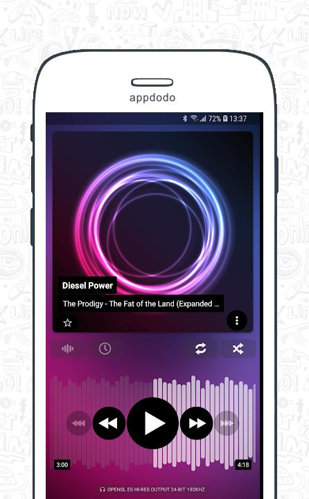 Poweramp Music Player  screenshot 2