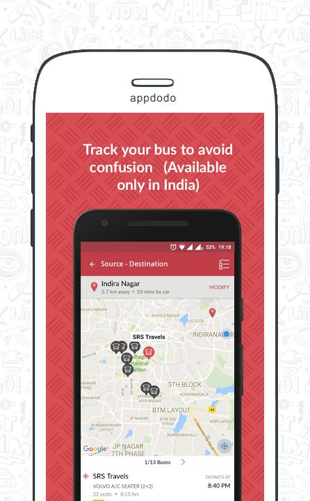 Redbus screenshot 5