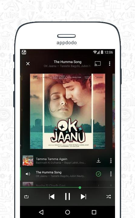 Saavn screenshot 5