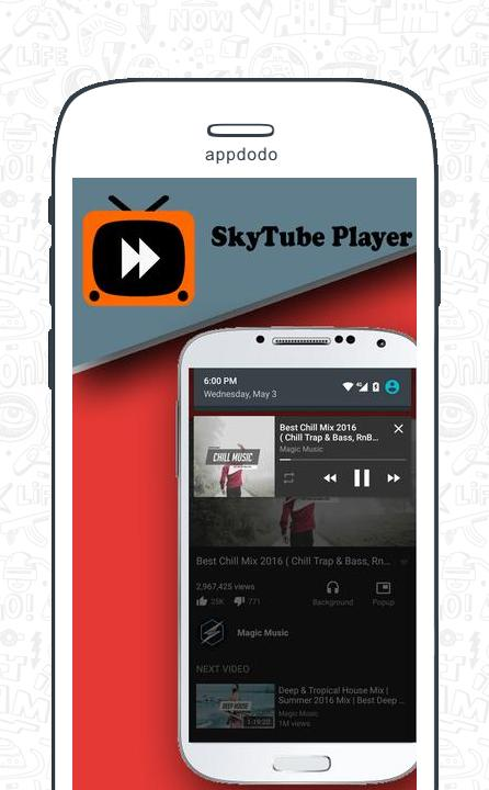 SkyTube screenshot 1