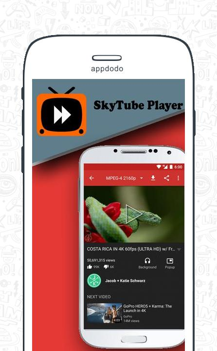 SkyTube screenshot 2