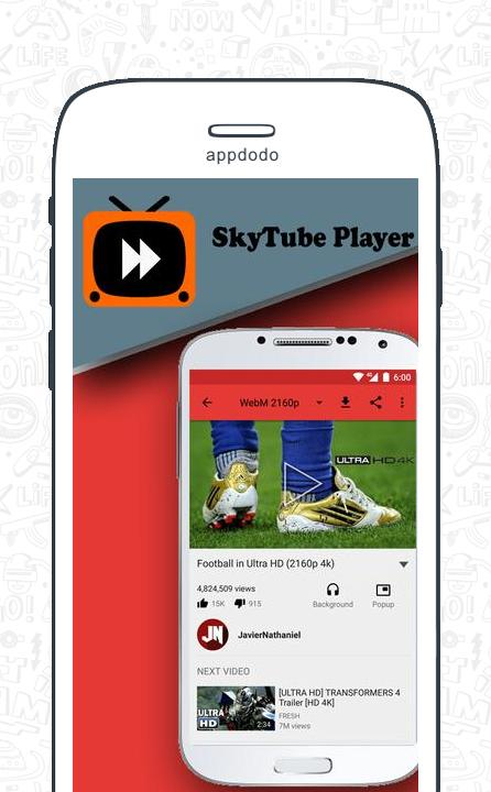 SkyTube screenshot 3