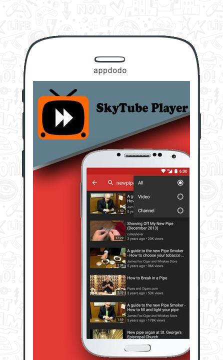 SkyTube screenshot 4