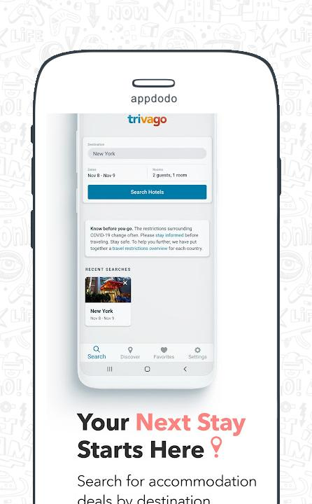 Trivago : Hotels & Travel screenshot 1