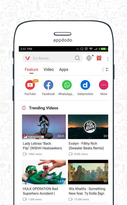 Vidmate screenshot 1