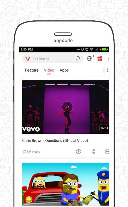Vidmate screenshot 3