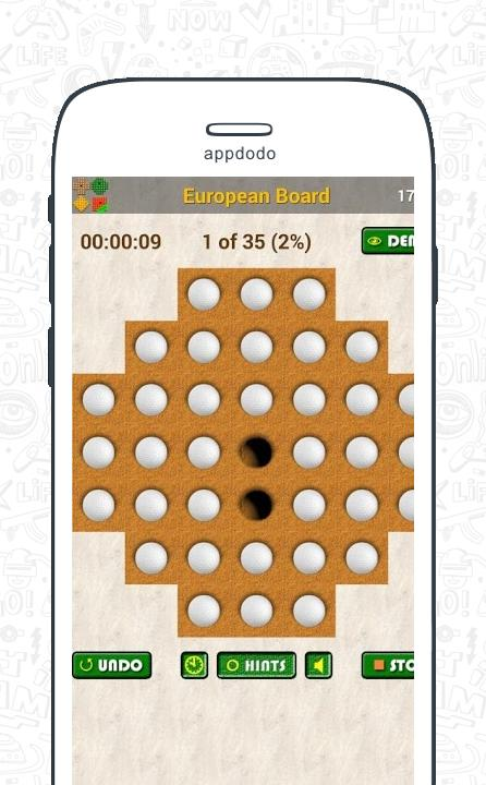 Marble Solitaire  screenshot 3