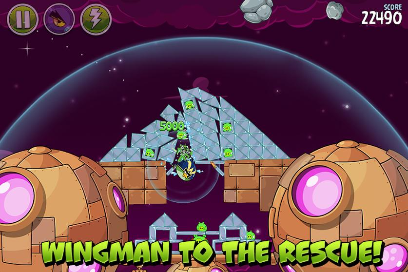 Angry Birds Space  screenshot 3