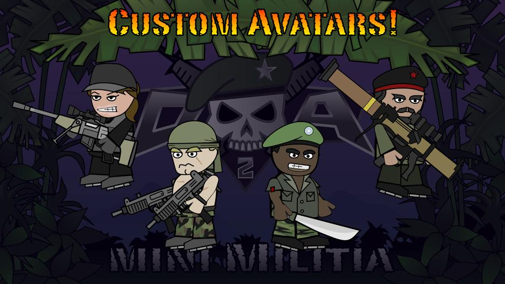 Doodle Army 2 : Mini Militia screenshot 10