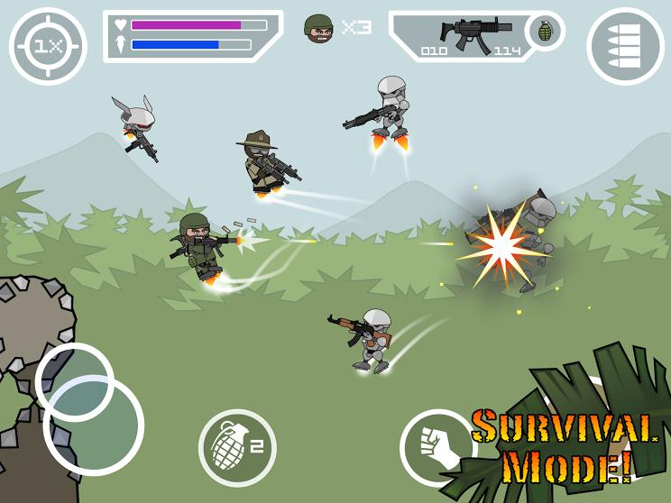 Doodle Army 2 : Mini Militia screenshot 12