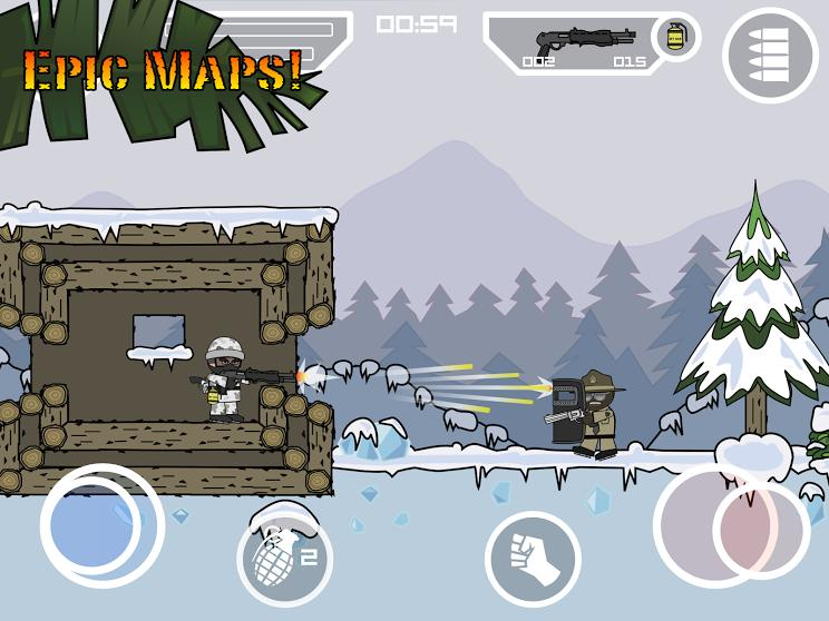 Doodle Army 2 : Mini Militia screenshot 14