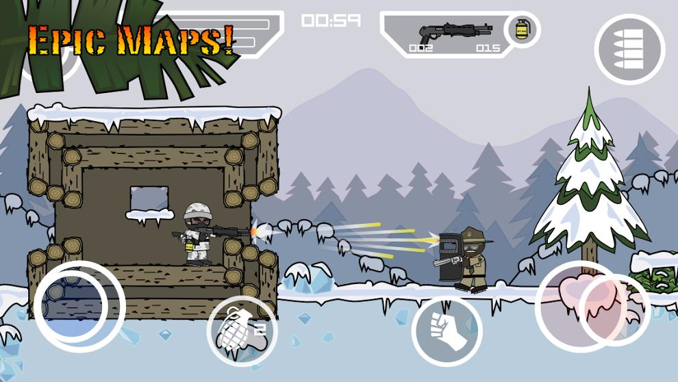 Doodle Army 2 : Mini Militia screenshot 4