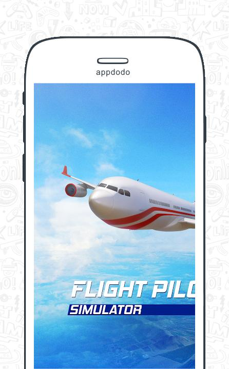 Flight pilot simulator 3D  Free screenshot 11
