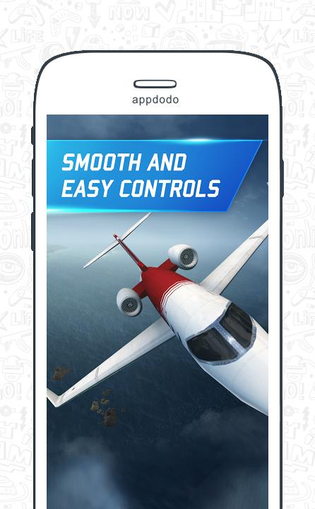 Flight pilot simulator 3D  Free screenshot 15