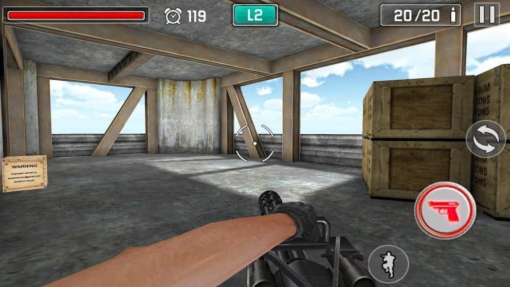 Gun Shoot War  screenshot 1