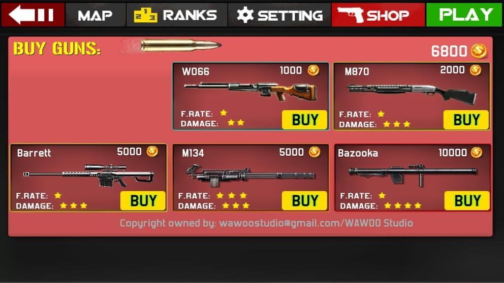 Gun Shoot War  screenshot 8