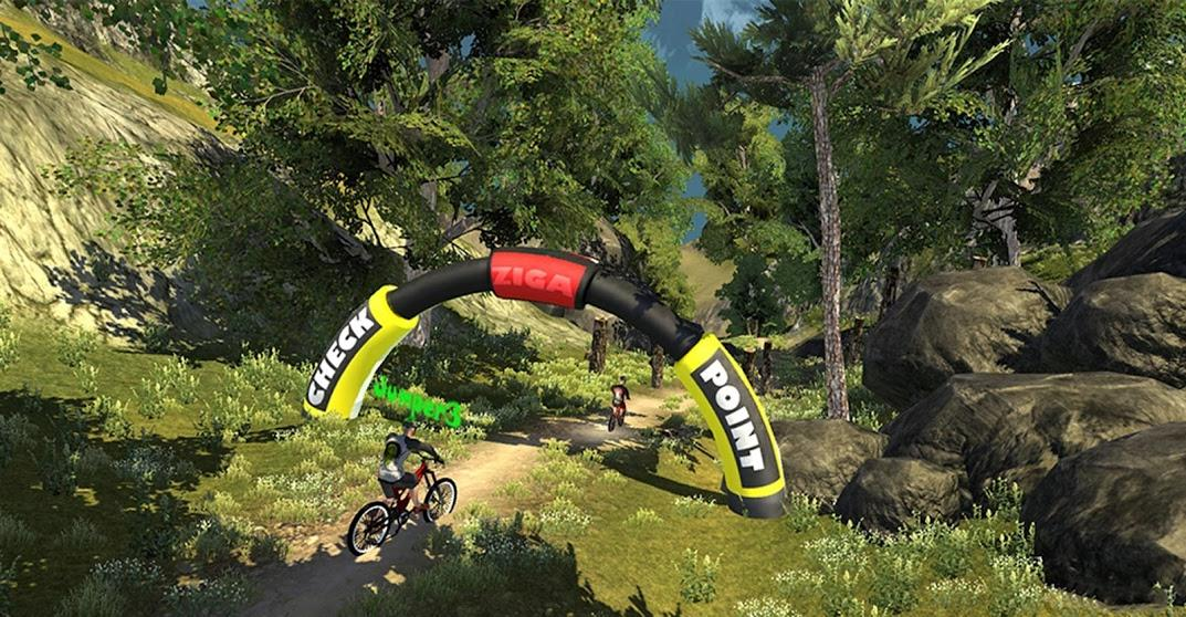 MTB Downhill: Multiplayer  screenshot 17