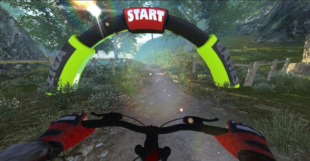 MTB Downhill: Multiplayer  screenshot 2