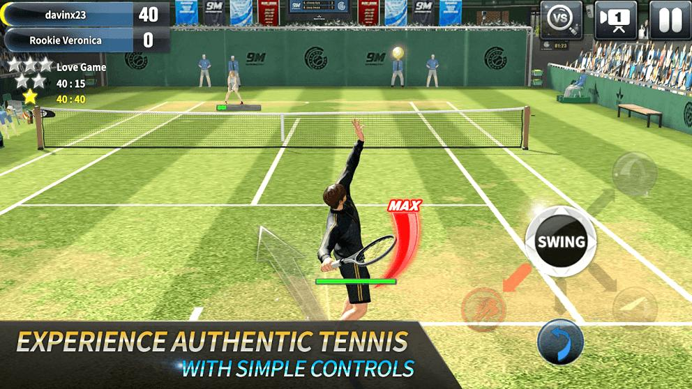 Ultimate Tennis screenshot 1